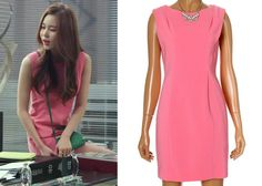 "Kim So-Young 김소영 in ""Temptation"" Episode 7.  JJ Jigott GGEC000715 Dress #Kdrama #Temptation 유혹 #KimSoYoung"