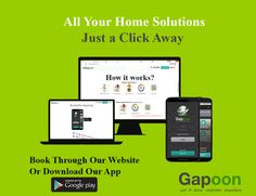 Gapoon is an online platform where you can hire trusted and verified professionals including plumbers, electricians, carpenters, painters, pest control and computer repairmen.  http://www.gapoon.com http://www.gapoon.com