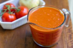 own tomato puree is easy to do use it for tomato soup tomato sauce