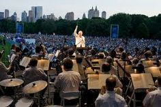 NYC Philharmonic on Central Park