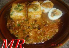 Bacalao a la catalana Portuguese Recipes, Portuguese Food, Latin Food, Spanish Food, Cauliflower, Chili, Curry, Soup, Mexican