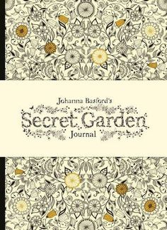 OFF Secret Garden Journal Hardback Johanna Basford Doodling Doodles Ink Drawings Illustration Diary Adult Coloring Book Colorist By Thecottageneedle