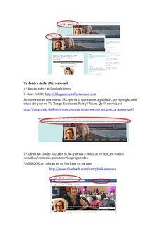 II) Paso a paso de como publicar en facebook, en  google+ y en Twitter by #nancyballesterosen for #empowernetwork y #lazymillionaires #comopublicar #publicarcontenido IV Blog, Internet, Marketing, Facebook, Twitter, Google, Step By Step, Blogging
