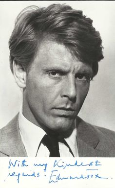 Edward Fox Edward Fox Actor, I Movie, Movie Stars, Frederick Forsyth, Supporting Actor, The Other Guys, British Actors, Old Hollywood, My Eyes
