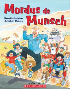 Mad about Munsch! - Robert Munsch writes hilarious picture books about kids from across Canada. Isaac Brock, Good Books, My Books, Author Studies, Parenting Books, Children's Literature, Bedtime, Books Online, Book Worms