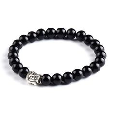 Buddha Skull Tibetan Mala Beads Bracelet by Peace of Mindfulness. Mala beads can be used for mantras, meditation, prayer and yoga. They are also super stylish and make amazing boho chic fashion outfit accessories. Discover the meaning of this authentic Mala bracelet.