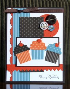 Stampin' Up! Card by Krystal De Leeuw at Krystal's Cards and More: 2011: