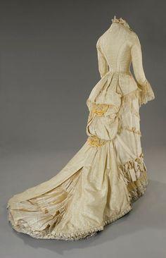 "Anna's 1880-style dress from the film ""Anna Karenina"" (1997). Designed by Maurizio Millenotti. Tirelli Costumi."