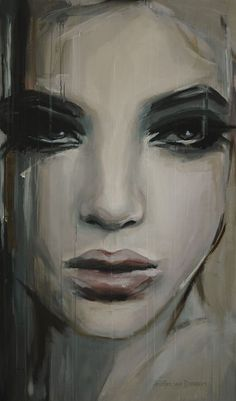 Saatchi Online Artist: Hesther Van Doornum; Acrylic, 2013, Painting $#34;See beneath your beautiful$#34;