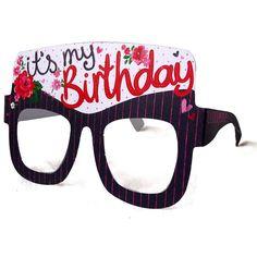 Birthday Girl Card Glasses from notonthehighstreet.com
