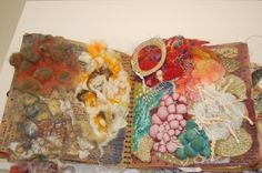 Art Textiles sketchbook A2