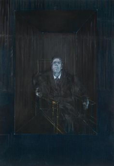 Francis Bacon, Study for a Portrait, 1953. Oil on canvas.