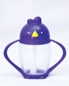Lollacup ~ a stylish and smart alternative to the  traditional sippy cup    valve-free, weighted straw allows infants  as young as 9 months old to easily and  effectively drink from a straw, even if the  cup is tilted