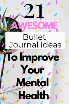 21 Mental Health Bullet Journal Ideas to Help You Relieve Anxiety Fast! Mental Health Journal, Mental Health And Wellbeing, Good Mental Health, Mental Health Awareness, Mental Health Therapy, Mental Health Conditions, Stress Disorders