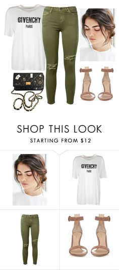 """Gravity"" by thefashionguilty on Polyvore featuring moda, Urban Outfitters, Givenchy, Current/Elliott, Gianvito Rossi y Chanel"