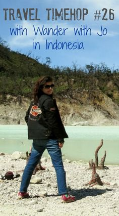 Jo from Wander with Jo stood in front of a sulphur lake in Indonesia. This…