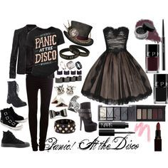 Panic! At The Disco inspired xD