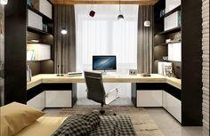 Как создать функциональную комнату для студента: проект из Москвы | Свежие идеи дизайна интерьеров, декора, архитектуры на InMyRoom.ru