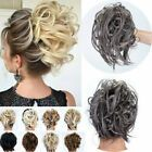 Real As Human Messy Bun Ponytail Scrunchie Tousled Hair Piece Extensions Updo US Ponytail Hair Piece, Curly Hair Pieces, Clip In Hair Pieces, Ponytail Scrunchie, Curly Hair Styles, Natural Hair Styles, Bun Updo, Messy Bun Hairstyles, Ombre Hair Extensions