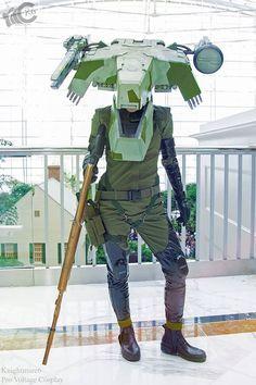 Metal Gear REX gijinka cosplay