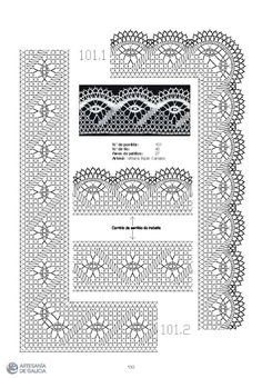 RAIZAME DO ENCAIXE GALEGO - Elena Corvini - Picasa Web Albums Bobbin Lace Patterns, Hand Embroidery Patterns, Loom Patterns, Crochet Patterns, Filet Crochet Charts, Basic Crochet Stitches, Hairpin Lace Crochet, Bobbin Lacemaking, Lace Heart