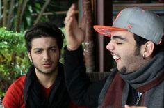 LMAO! #ILVOLO Gian & Nazio's face