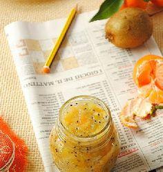 Cose fatte in casa: Marmellata di Kiwi e Mandarini | #frutta #conserva