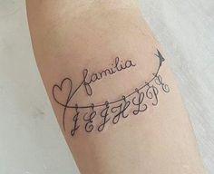 The letters represent the initials of the children. tatoo feminina, tatoo feminina delicada, tatoo f Sibling Tattoos, Family Tattoos, Tattoos For Kids, Tattoos For Daughters, Sister Tattoos, Tattoos For Women, Mother Tattoos, Mini Tattoos, Trendy Tattoos