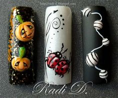 3D decorated tips :) - Nail Art Gallery by NAILS Magazine