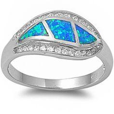 BEAUTIFUL BLUE FIRE OPAL & CZ .925 Sterling Silver Ring Size 9 Oxford Diamond Co,http://www.amazon.com/dp/B00CXXMROY/ref=cm_sw_r_pi_dp_tjE-sb02KBZYFERH
