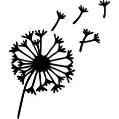 Silhouette Design Store - View Design #135032: dandelion