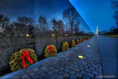 Washington D.C. Vietnam Memorial at Night Jessica Veltri Photography
