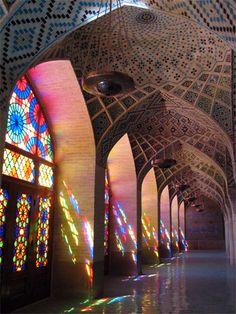 Inside Nasirolmolk Mosque- Shiraz,IRan