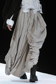 Yohji Yamamoto, Spring 2012.