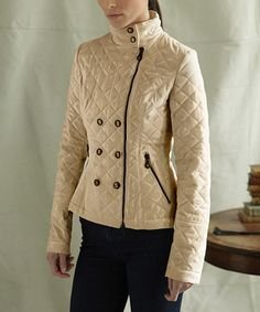 Look at this O'Shaughnessy Champagne Flynn Jacket - Women on #zulily today!
