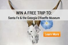 Win a Weekend for Two to Santa Fe  via @1000Museums