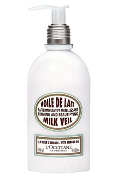 My favorite lotion EVER! It's light and moisturizes skin without making skin feel greasy.  It smells so good and clean.  It adds a little shimmer to the skin.
