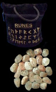 Moonstone Rune Set with Bag Rune Divination, Wiccan, Magick, Corn Dolly, Pagan Decor, Rune Stones, Witchcraft Supplies, Magic Symbols, Witch Broom