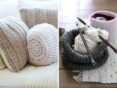 knitting home decor