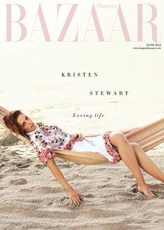 Kristen Stewart Harper's Bazaar UK cover