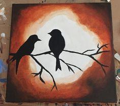 Bird Silhouettes por Coysepia en Etsy