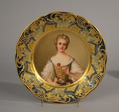 ROYAL VIENNA CABINET PLATE, signed Wagner, 19th century; : Lot 544