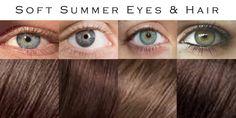 Soft Summer Color Palette, Summer Colors, Warm Highlights, Summer Eyes, Color Me Beautiful, Soft Autumn, Hazel Eyes, Dark Colors, Colours