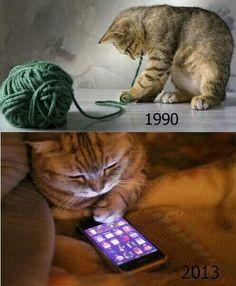 Los tiempos cambian.