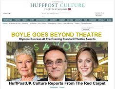 BOYLE GOES BEYOND THEATRE: Olympic Success At The Evening Standard Theatre Awards - click for more: http://www.huffingtonpost.co.uk/2012/11/26/evening-standard-theatre-awards-2012_n_2190421.html?utm_hp_ref=uk-culture