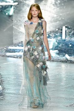 Rodarte Gives Us Another Beautifully Ethereal Collection for S/S 15 via @WhoWhatWear