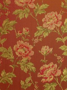Swank 8 Red - by Maxwell Fabric Brocade Fabric, Fabric Decor, Swatch, Catalog, Fabrics, Cottage, Free Shipping, Patterns, Luxury