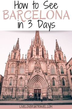 European Travel Tips, Europe Travel Guide, Europe Destinations, Spain Travel, Travel Guides, Travel Inspiration, Places To Visit, Barcelona Spain, Barcelona Travel