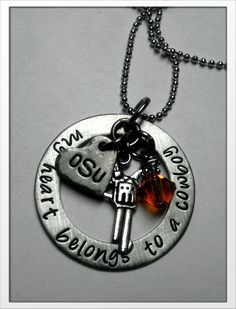 I want this!! OSU Love: My heart belongs to a Cowboy