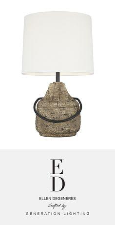 Augie 1 - Light Table Lamp   ED Ellen DeGeneres Ed Ellen Degeneres, Light Table, Lamp Design, Chandeliers, Light Up, Table Lamp, Bulb, Shop, Home Decor